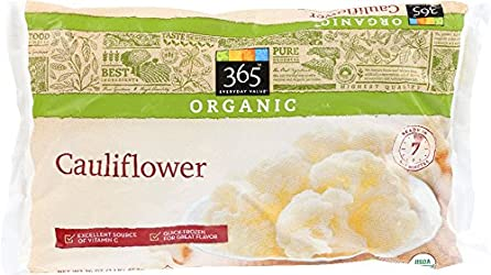 365 Everyday Value, Organic Cauliflower, 16 oz, (Frozen)