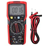 NVC Measurement Digital Multimeter Handheld Amp Volt Ohm LCD Affichage rétroéclairé Capacitance Meter Thermocouple Thermometer Data Logger with Temperance Testing(UT89XD)