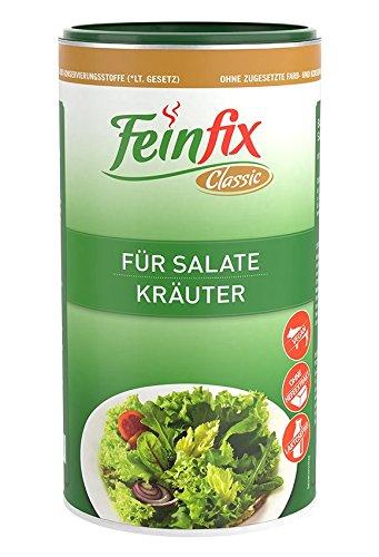 Feinfix Classic Salatdressing Kräuter 800g für Salate | Kräutermischung zum Anmachen | Gewürzmischung gemischt für Dressing | Würzig getrocknete Salatkräuter fertig | P0-KTJA-SAW5