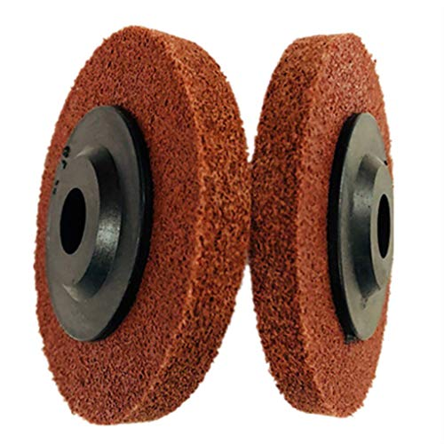Aluminum Copper and other Metal Products 125x110mm 0.3mm Stainless Steel Wire Drawing Polishing Burnishing Wheel Grinding Abrasive Tool for The Surface Treatment of Stainless Steel
