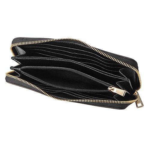 フルラ(FURLA)長財布(ラウンドファスナー)PR82B30907853バビロンブラック黒[並行輸入品]