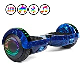 JOLEGE Hoverboard, 6.5' Two-Wheel Self Balancing Hoverboards - LED Light Wheel Scooter for Kids