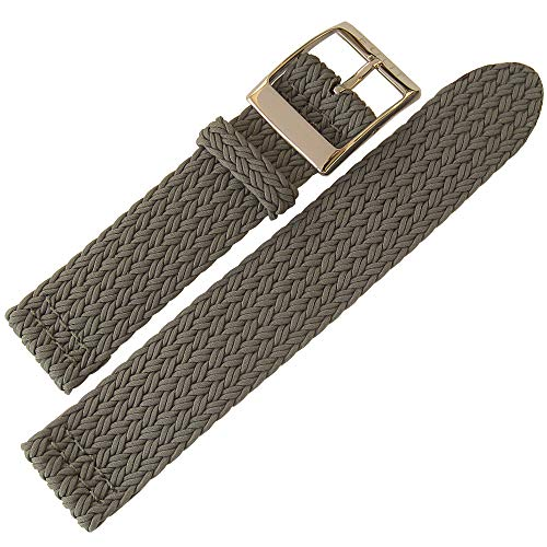 Eulit Palma Pacific 22mm Grey Perlon Watch Strap