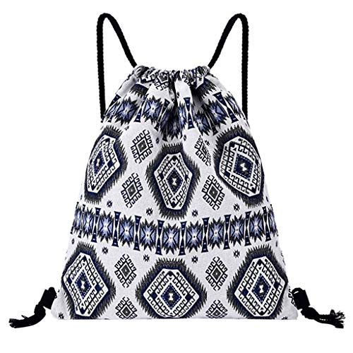 i-uend 💎💎 Kordelzug Druck Rucksack Fitness Tasche Frauen Sport Bundle Tasche Strandtasche Hohe Qualität Umhängetasche