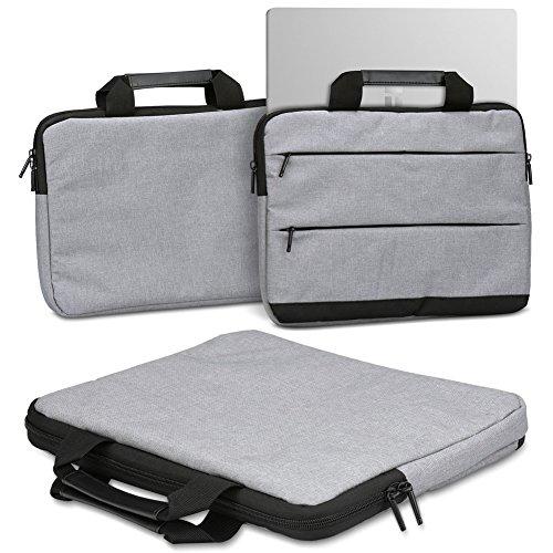 Schutzhülle für Trekstor Primebook P13 P14 P14B Laptop Tasche Sleeve Hülle Notebooktasche Hülle in Grau, Farbe:Grau