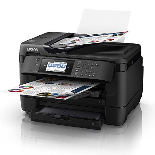 Epson WorkForce WF-7720DTWF Inyección de tinta 32 ppm 4800 x 2400 DPI A3 Wifi - Impresora multifunción (Inyección de tinta, Impresión a color, 4800 x 2400 DPI, A3, Impresión directa, Negro)