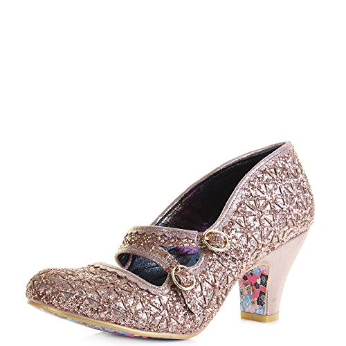 Irregular Choice Dazzle Dance, Mary Janes Femme, Or (Gold C), 38 EU