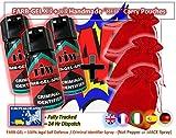 Criminel ID Spray/Vaporisateur autodéfense x3 avec x3 faite à la main Rouge étui...