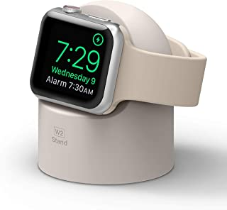 elago W2 Charger Stand Compatible with Apple Watch Series 7/6/SE/5/4/3/2/1 (45mm, 44mm, 42mm, 41mm, 40mm, 38mm), Durable S...