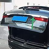 MNBX Edelstahl Chrom Zierleist Heckklappe Stylingleisten für Volvo XC60 2018 2019...