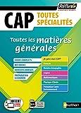 Toutes les matières générales - Toutes spécialités - NOUVEAU CAP (20)