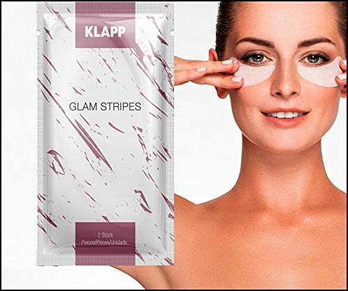 Klapp Glam Stripes Anti-Wrinkle Eye Patches 2x2 pcs.