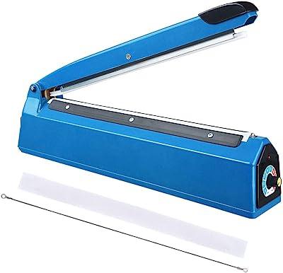 CooPee - Sellador de impulso de 30,5 cm para bolsas de mano, máquina de embalaje para restaurante de hogar, almacenamiento de alimentos, sellado térmico