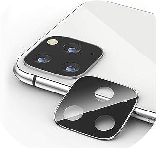 شاشة حماية لعدسات الكاميرا من الزجاج المقوى مع اطار معدني لحماية العدسات الخلفية لموبايل ايفون 11