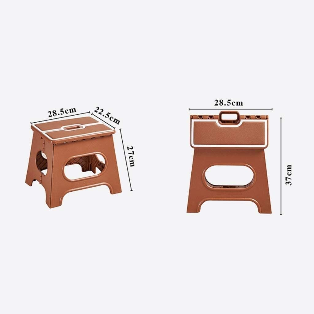 Tabouret de Marche Pratique for Le ménage (Color : Brown) Red
