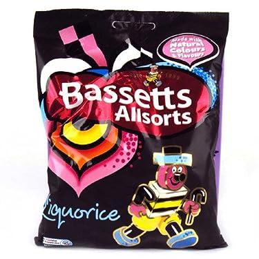 Bassetts Liquorice Allsorts 130g (12 Bags Bulk Buy)