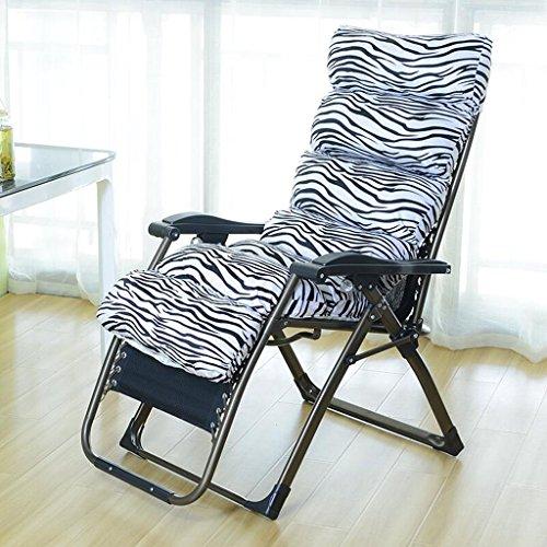 Unbekannt Rollsnownow Zebra Muster Klappstuhl Mittagspause Liegestuhl Schlafsessel Freizeit Faule Sofa Stühle Für Ältere