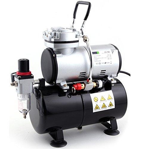 Fengda FD-186 Airbrush compressor met luchttank/drukvat/4 bar/Auto Stop
