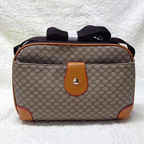 YUNVWUGUA Pu Zacht Gezicht Handtas Multi-Layer Grote Capaciteit Dames Crossbody Schoudertas Wild Mode Europa Amerika Dames Studententas Reistas Dames Mode Winkeltas Cross-Body Tassen large Light Color 8