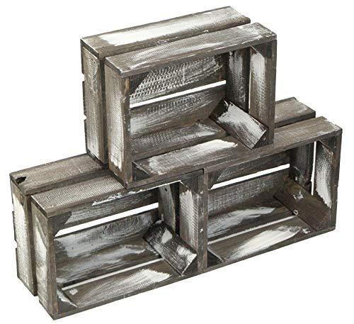 Stackers Couche pour Breloques avec 16 Compartiments en Blanc