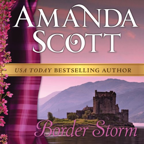 Border Storm audiobook cover art