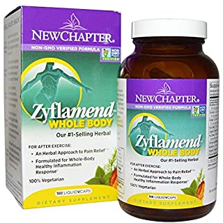 New Chapter Zyflamend +Turmeric 180 VCaps (3 pack)