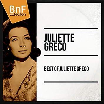 Best of Juliette Gréco (Mono Version)