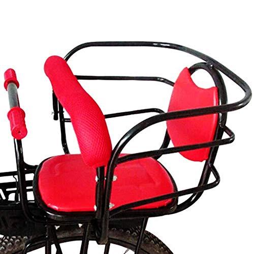 SXFYHXY Asiento Trasero de Bicicleta para niños, Funda de Asiento para niños...