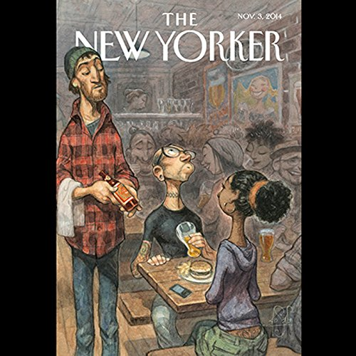 The New Yorker, November 3rd 2014 (Michael Specter, Adam Gopnik, David Owen) cover art