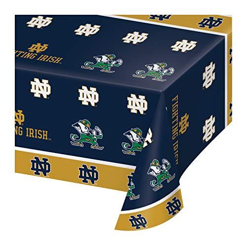 Notre Dame Plastic Tablecloths, 3 ct