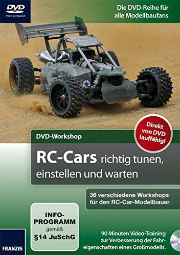 DVD-Workshop: RC-Cars richtig tunen, einstellen und warten - 36 verschiedene Workshops für den RC-Car-Modellbauer
