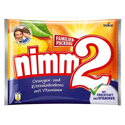 nimm2 (1 x 429g) / Bonbons mit Fruchtsaft & Vitaminen
