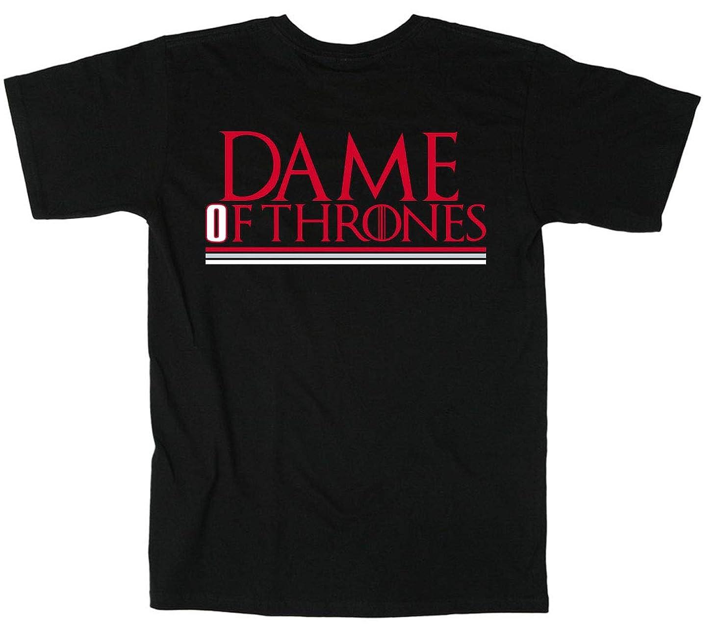 Shedd Shirts Black Portland Lillard Dame of Thrones T-Shirt