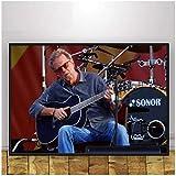 Refosian Eric Clapton Musik Sänger Poster Wandkunst