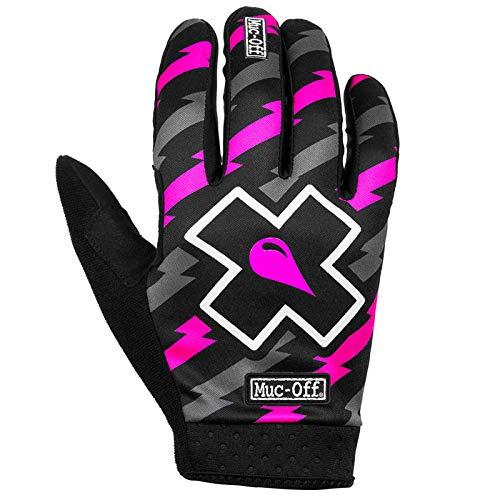 Muc-Off Unisex Bolt MTB, Groß-Premium, Handgefertigte Slip-On Handschuhe für Fahrradfahren, atmungsaktiv, Touchscreen-kompatibles Material Rider
