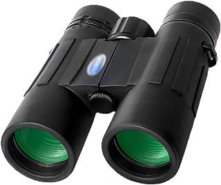 FANGFHOME télescope Jumelles pour Adultes Jumelles 10x42 avec Prisme Clear Vision BAK4, télescope HD Haute Puissance pour ...