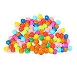 Amazingdeal365 Pelotas Multicolores de Plástico del Océano Gracioso para llenar Piscinasen Parque...