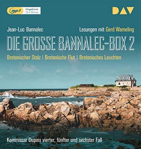 Die große Bannalec-Box 2: Ungekürzte Lesungen mit Gerd Wameling (3 mp3-CDs)