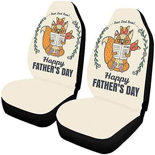 Best Dad Ever Happy Vaderdag autostoelhoezen beschermers