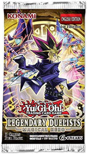 Yugioh Legendary Duelists Magical Hero Booster Pack