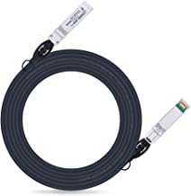 ipolex 1G SFP Cable 3m, Gigabit Direct Attach Copper (DAC) Twinax Cable for Cisco, Ubiquiti, Netgear, D-Link, Supermicro, Mikrotik for Switch, Router, NIC