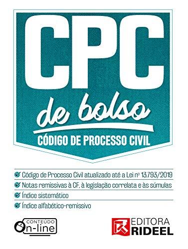 Código de Processo Civil de bolso