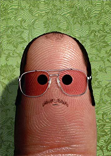 Avanti Press Thumbprint Funny/Humorous Masculine Birthday Card for Him/Man