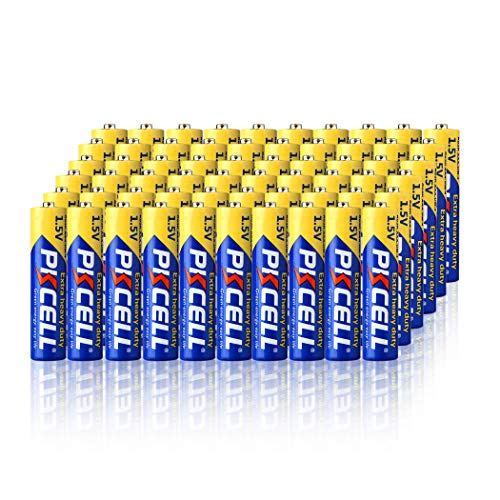 PKCELL 60 Count AAA 1.5V Batteries Carbon Zinc AAA Battery Long Lasting, All-Purpose Triple A Battery