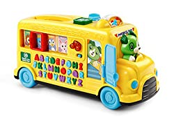 LeapFrog Alphabet Phonics Bus, Phonics toy, electronic toys for kids, electronic gifts, toddler electronics, learning toys for toddlers, childrens electronic toys, musical toys, best electronics for kids, cool toys for kids, electronic educational toys, electronic games for kids, developmental toys, interactive toys, early learning toys, Tech Toys for kids