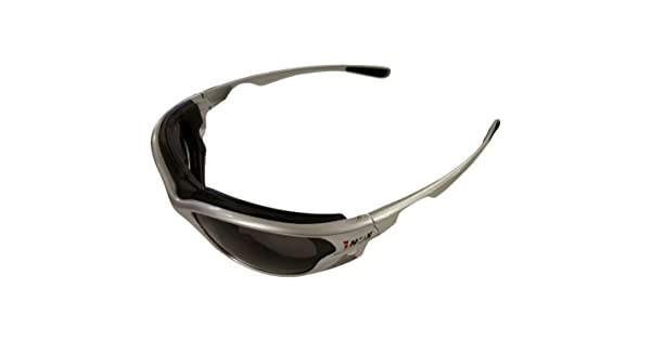 One Size Gray Lens Liberty Glove and Safety AMZSL1773G//AF Gazer Safety Glasses