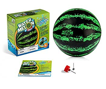 Watermelon Ball – The Ultimate Swimming Pool Game | Pool Ball for Under Water Passing Dribbling Diving and Pool Games for Teens Kids or Adults | 9 in Ball Fills with Water