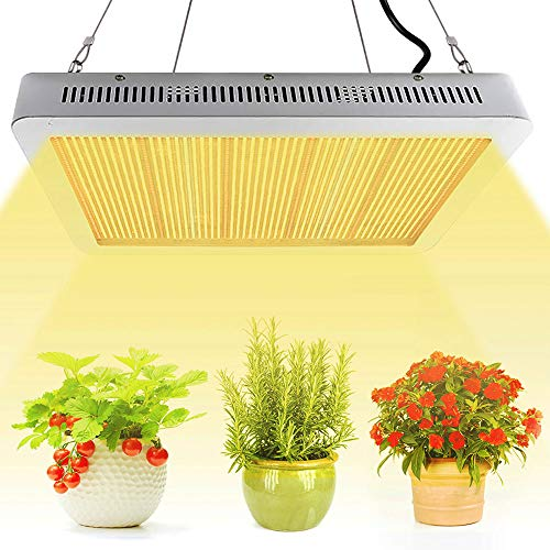 LED Pflanzenlampe 2400W Grow Light Pflanzenlicht Vollspektrum, Derlights Grow Lampe Pflanzenlampen mit IR UV Pflanzenleuchte wachstumslampe für pflanzen Zimmerpflanzen Garten Gewächshaus Hydroponik