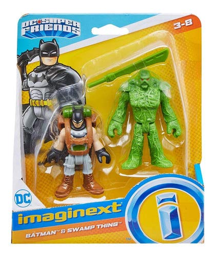 Imaginext Dc Super Friends Batman E Monstro Do Pantano M5645