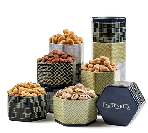 Benevelo Gifts 6 Tier Gourmet Holiday Gift Set (Salted)